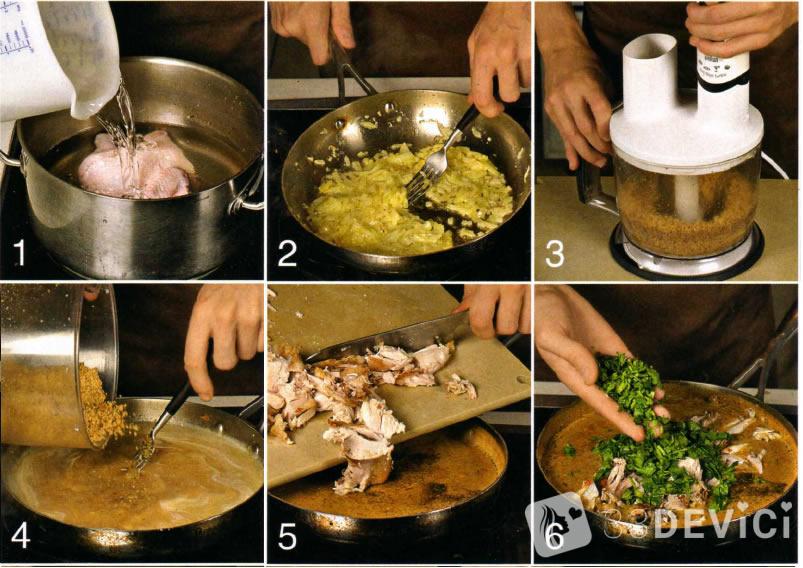 видео рецепт сациви из курицы