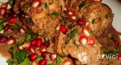 Готовим сациви из курицы