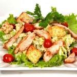 Салат цезарь с курицей — классический рецепт