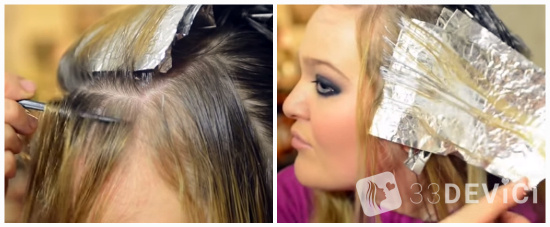 как сделать мелирование волос в домашних условиях