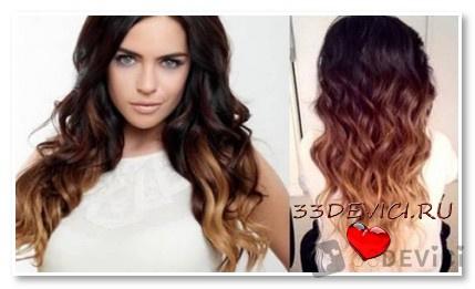 Выбираем оттенок для волос