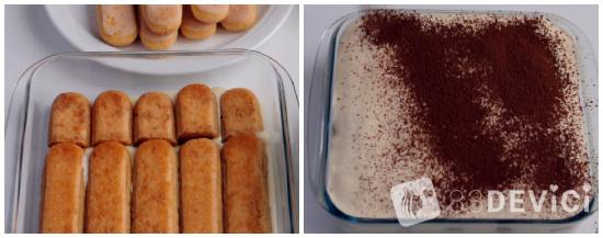 Как приготовить тирамису пошагово с фото