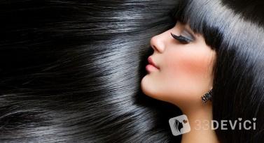 Плюсы кератинового выпрямления волос