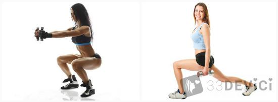 Упражнения при сушке тела