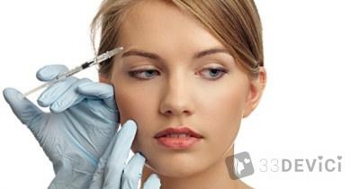 Процедура — инъекции ботокса