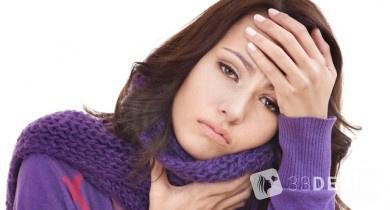 Cимптомы инфекционного мононуклеоза