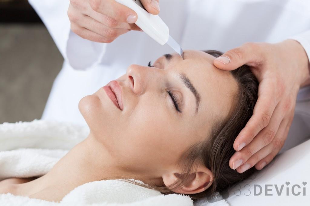 аппаратное очищение лица