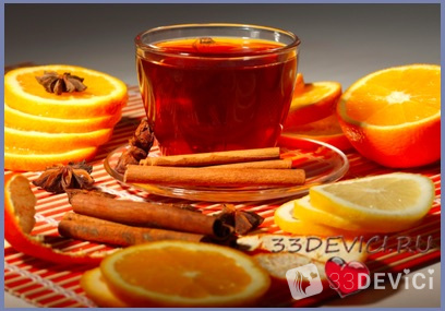 Рецепт с апельсином
