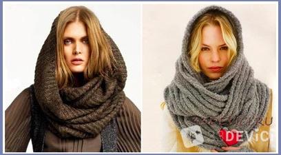 Как завязать шарф на голове