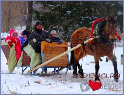 Новогодние туры в России