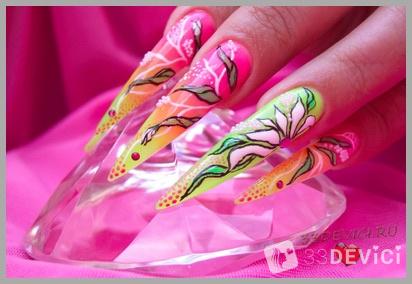 Недостатки наращивания ногтей гелем