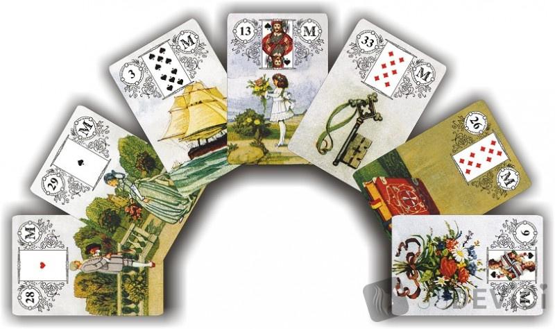 предсказания с карточками Ленормана