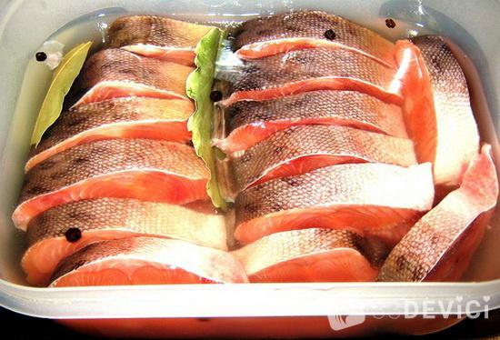 как засолить красную рыбку