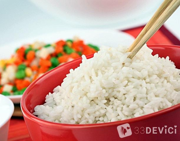 рисовое меню