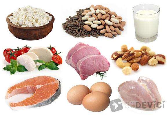 Какие продукты можно есть при белковой диете
