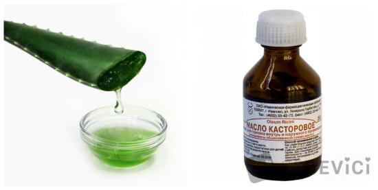 Касторовое масло для роста ресниц и бровей