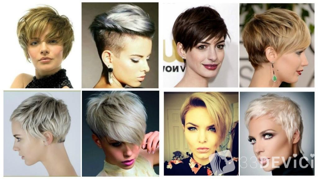 Стрижки на короткие волосы 2017 женские для полных