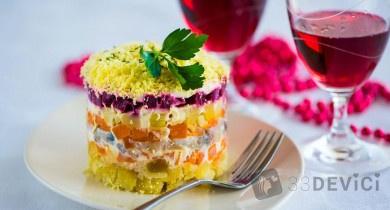 Селедка под шубой — главное блюдо новогоднего стола