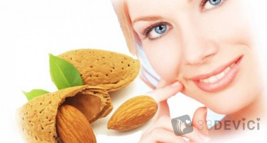 Миндальный пилинг — щадящий способ воздействия на кожу