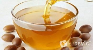 Аргановое масло для волос и лица