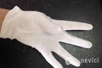 хлопчатобумажные перчатки для рук
