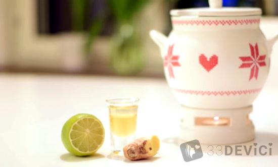чай с имбирьчиком
