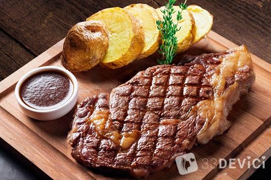 Как правильно выбрать мясо для стейка рибай