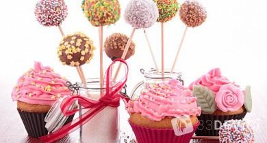 Кейк попсы — ну очень вкусные бисквитные шарики!