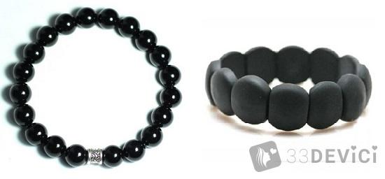 кому полезно носить черный браслет