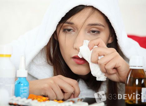 как быстро снять отек в носу