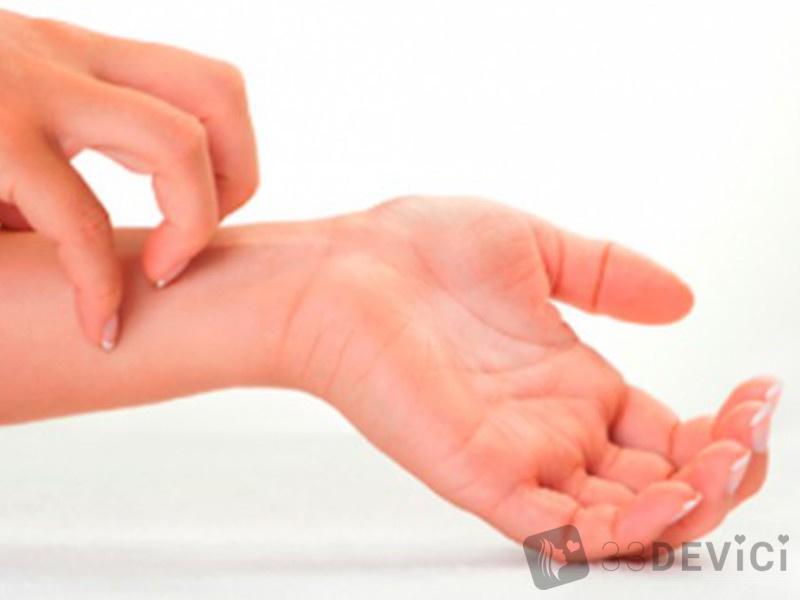 сыпь на руках при беременности