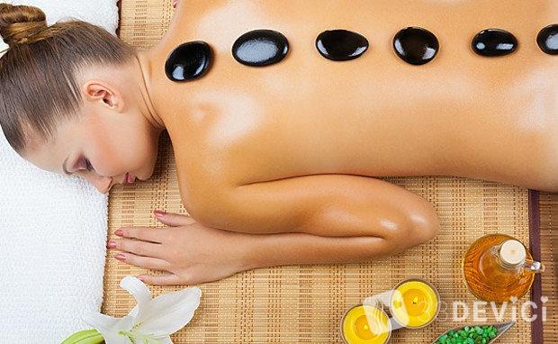 стоунтерапия массаж камнями