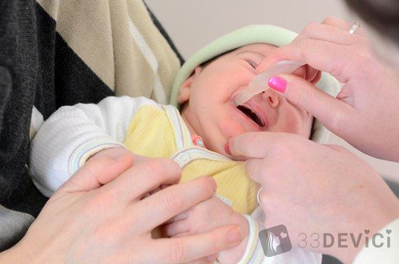реакция на полиомиелита