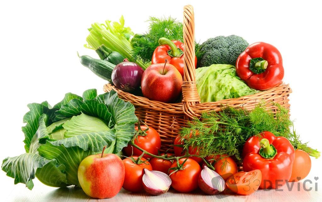 Какие продукты содержат фолиевую кислоту