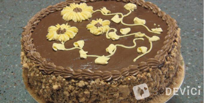 торт безе киевский