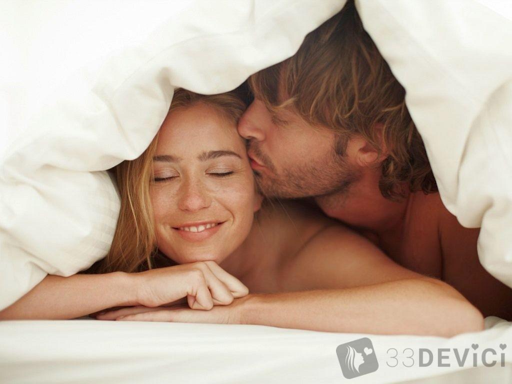 поведение влюбленного мужчина в постели