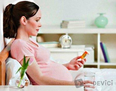 как пить фолиевую кислоту беременным