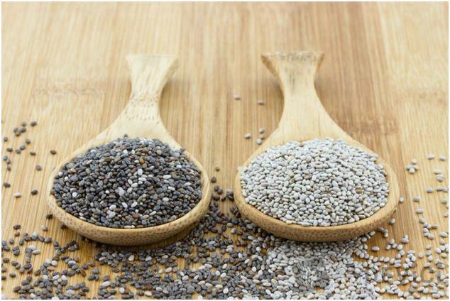 чем отличаются черные и белые семена чиа