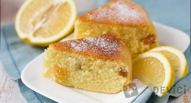 Лимонный кекс: рецепт и фото