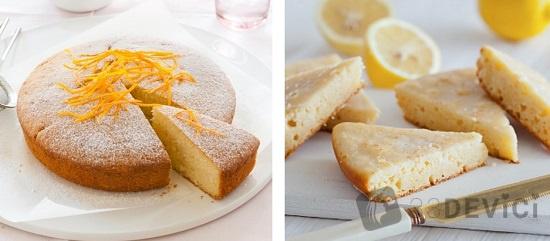как приготовить лимонный кекс в мультиварке