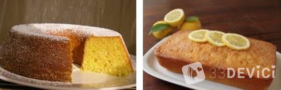 рецепт лимонного кекса с цедрой