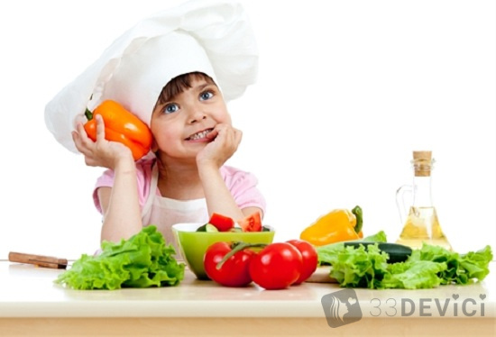 правильное питание детям