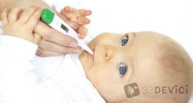 Как сбить высокую температуру ребенку