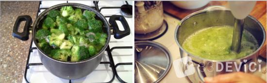 как приготовить пюре из брокколи в домашних условиях