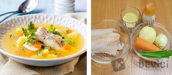 Рыбный суп для ребенка в 1 год