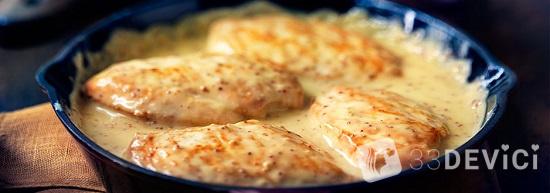 куриная грудка в сметанном соусе