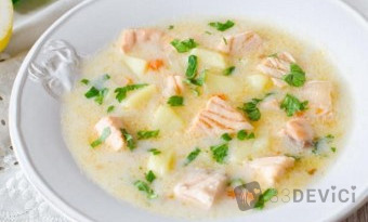 Молочный суп с макаронами для ребенка