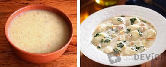 как варить молочный суп ребенку