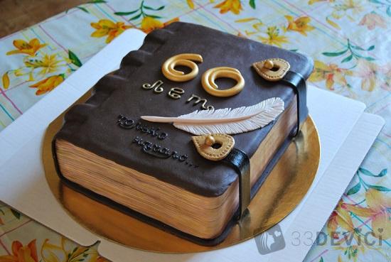 Фото тортов на юбилей мужчине