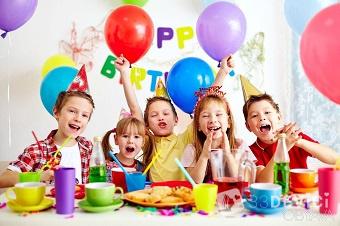 Детское меню на день рождения